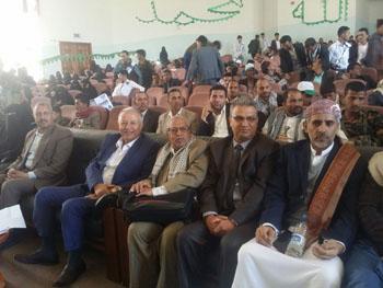 حفلا خطابياً وانشادياً بمناسبة ذكرى المولد النبوي الشريف بجامعة ذمار